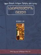 საქართველოს იმედი (XXXIX). წმინდა მეფე დავით აღმაშენებელი (ნაწილი II) - კრებული
